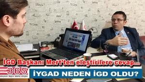 İstanbul Gazeteciler Derneği Başkanı Mehmet Mert Gazete 365'i ziyaret etti
