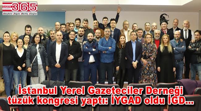 İstanbul Yerel Gazeteciler Derneği'nin adı üyelerin kararıyla değiştirildi