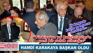 İYİ Parti Bahçelievler İlçe Başkanlığı'na Av. Hamdi Karakaya seçildi