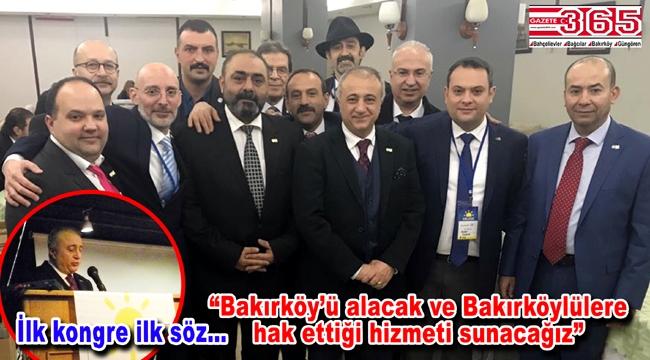 İYİ Parti Bakırköy İlçe Başkanlığı'na Ertuğrul Şen seçildi