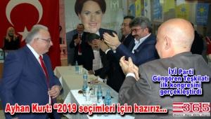 İYİ Parti Güngören İlçe Başkanlığı'na Ayhan Kurt seçildi
