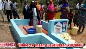 Kermeste toplanan yardımlar Bangladeş ve Kenyalılara hayat oldu