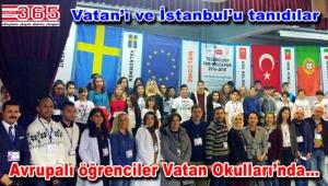 Vatan Okulları AB Erasmus+ Projesi kapsamında yabancı öğrencileri ağırladı