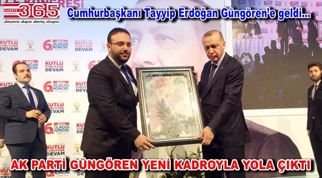 AK Parti Güngören İlçe Başkanlığı'na Bünyamin Baş seçildi