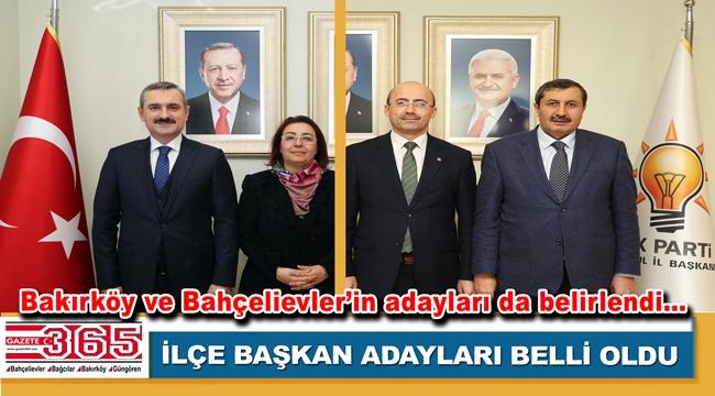 AK Parti İstanbul'da ilçe başkan adayları belirlendi