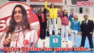 Ayşe Ebrar Duran başarısını Avrupa'da sürdürüyor