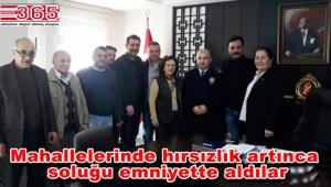 Bakırköylü vatandaşlar Emniyet Müdürü Torlak'tan yardım istedi