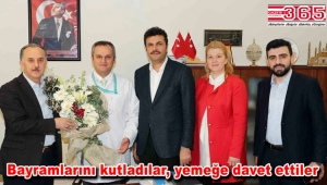Başkan Çağırıcı, 14 Mart Tıp Bayramı'nda sağlık çalışanlarını ziyaret etti