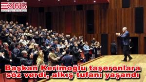 Başkan Kerimoğlu taşeron işçileri bilgilendirdi, söz verdi…