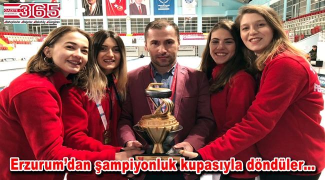 BBSK Curling Takımı 1. Lig'e yükseldi