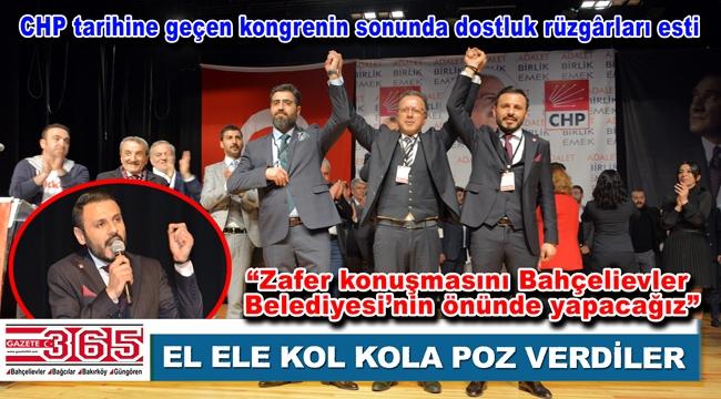 CHP Bahçelievler İlçe Başkanlığı'na Özgür Çelik seçildi