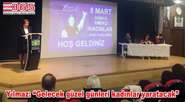 CHP Bahçelievler Kadın Kolu 8 Mart için panel düzenledi