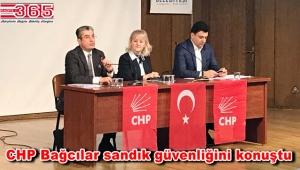 CHP Milletvekili Emre ile PM Üyesi Günaydın Bağcılar'da panele katıldı
