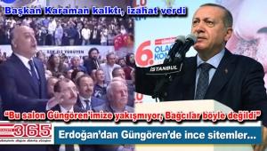 Cumhurbaşkanı Erdoğan'dan Güngören'de dikkat çeken sözler…