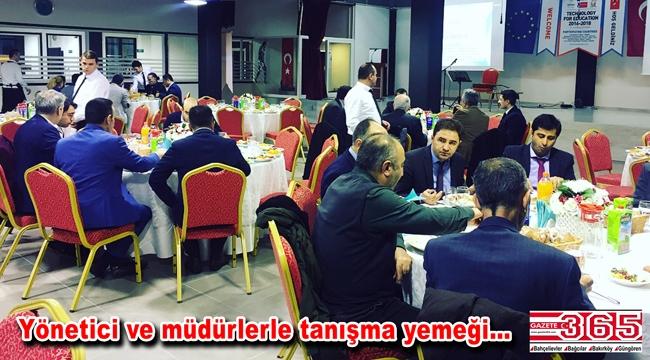 Eğitim camiası Vatan Okulları'nın yemeğinde buluştu