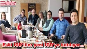 İstanbul Gazeteciler Derneği (İGD)'ye yoğun katılım…