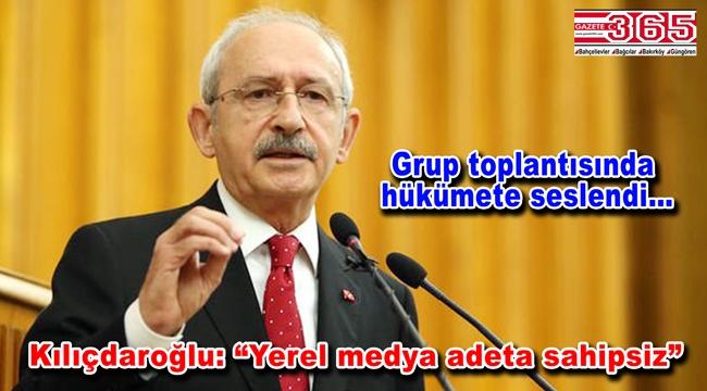 Kemal Kılıçdaroğlu yerel medyaya destek istedi