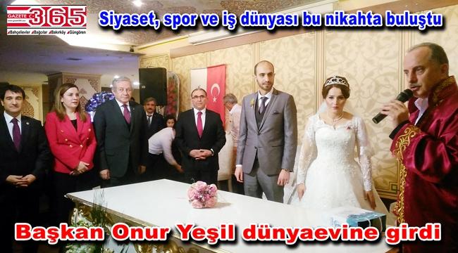 MHP Bağcılar İlçe Başkanı Onur Yeşil evlendi