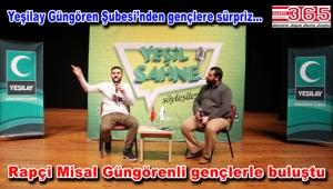 Rapçi Misal Güngörenli gençleri bağımlılığa karşı uyardı
