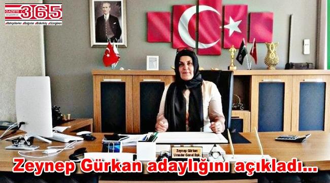 Zeynep Gürkan AK Parti Bahçelievler İlçe Başkanlığı'na aday oldu