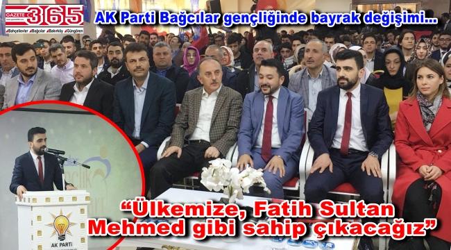 AK Parti Bağcılar Gençlik Kolu Başkanlığı'na Sinan Erdem Arslan seçildi