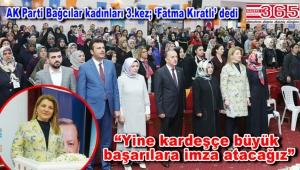 AK Parti Bağcılar Kadın Kolu Başkanlığı'na Fatma Kıratlı seçildi