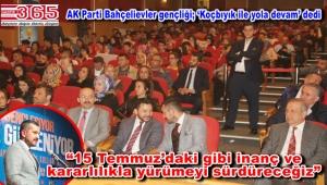 AK Parti Bahçelievler Gençlik Kolu Başkanlığı'na Oktay Koçbıyık seçildi