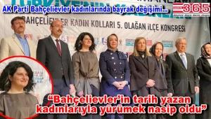 AK Parti Bahçelievler Kadın Kolu Başkanlığı'na Şeyma Aktaa seçildi
