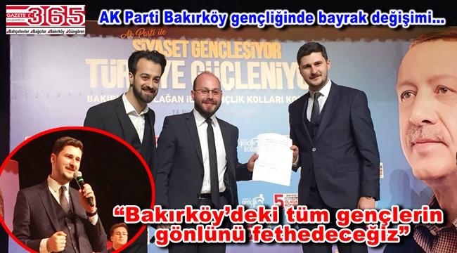 AK Parti Bakırköy Gençlik Kolu Başkanlığı'na Suat Karaçorlu seçildi