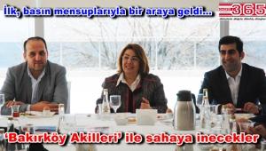 AK Parti Bakırköy İlçe Başkanı Kestane, gazetecilerle buluştu