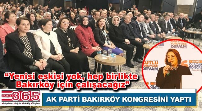 AK Parti Bakırköy İlçe Başkanlığı'na Tülin Mazlumoğlu Kestane seçildi