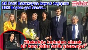 AK Parti Bakırköy Kadın Kolu Başkanlığı'na Berrin Toktaş seçildi