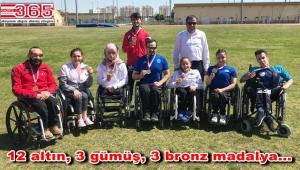 Bağcılarlı engelli atletler, İstanbul'a 12 altın madalya ile döndü