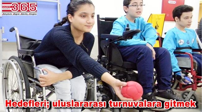 Bağcılarlı engelliler Türkiye Boccia Şampiyonası'nda İstanbul'u temsil edecek