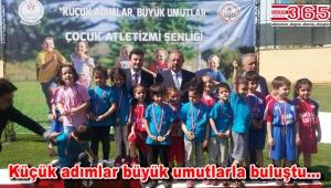 Bahçelievler Çocuk Atletizm Şenliği'nde ödüller sahiplerini buldu