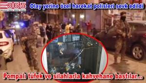 Bahçelievler'de kahvehaneye silahlı saldırı: 1'i ağır, 3 yaralı