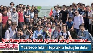 Erdem Bayazıt öğrencileri 2 Bin ağaç için adım attı