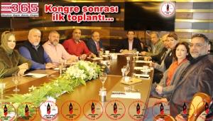 İGD yeni yönetimi görev dağılımını yaptı