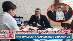 İstanbul 55 Samsunlular Derneği'nden Gazete 365'e ziyaret…