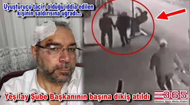Yeşilay Güngören Şube Başkanı Mehmet Yıldız saldırıya uğradı