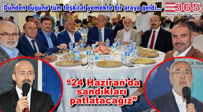 AK Parti Bahçelievler Teşkilatı seçim startını verdi