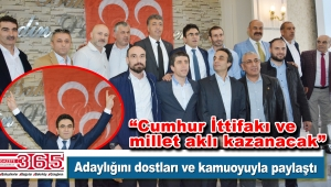 Av. Rıza Peker MHP İstanbul 3. Bölge Milletvekili A. Adaylığını açıkladı