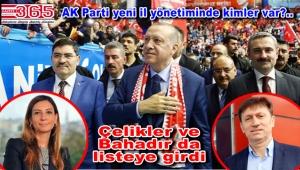 Aysun Çelikler ve Hakan Bahadır AK Parti İstanbul il yönetiminde…