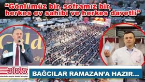 Bağcılar'da 130 bin kişi iftar sofrasında ağırlanacak