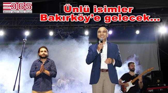 Bakırköy'deki 'Ramazan etkinlikleri' Botanik Parkı'nda...