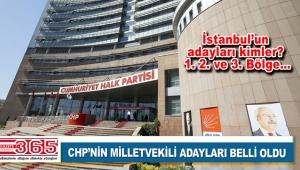 CHP milletvekili aday listesini YSK'ya sundu: İstanbul'un adayları kimler?