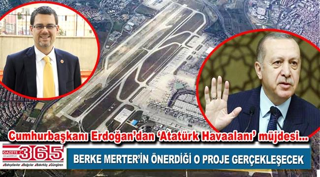 Cumhurbaşkanı Erdoğan, Berke Merter'in o önergesini müjdeledi