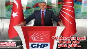 Emin Uludüz CHP Trabzon Milletvekili A. Adayı oldu
