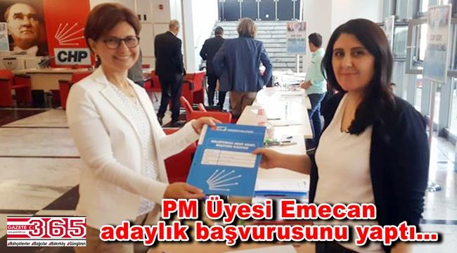 Emine Gülizar Emecan CHP İstanbul 3. Bölge Milletvekili A. Adayı oldu