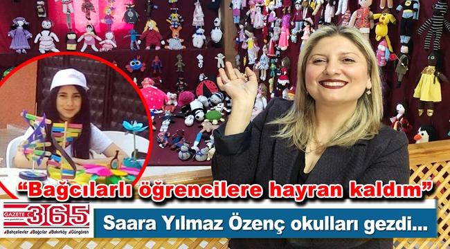"""Gazete 365 köşe yazarı Saara Yılmaz Özenç ile """"Okulları geziyorum"""" …"""